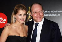 Carlo Verdone and his daughter Giulia at the Italian Movie Awards