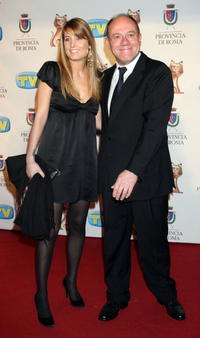 Carlo Verdone and his daughter Giulia at the Italian TV Awards