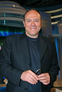 Carlo Verdone at the television show to promote