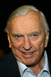 Gore Vidal at the after party for the premiere of