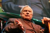 Author Gore Vidal at the 12th Annual L.A. Times Festival of Books.
