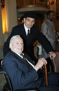 Author Gore Vidal and David Mamet at the PEN USA Annual LitFest Awards Gala.