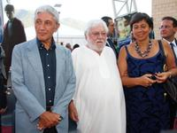 Antonio Bassolino, Paolo Villaggio and Guest at the 2009 Giffoni Film Festival.