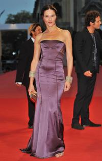 Chiara Caselli at the premiere of
