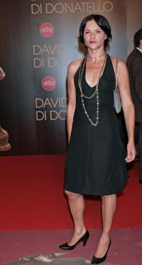 Chiara Caselli at the David di Donatello 2007 Italian Awards.
