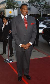 Bernie Casey at the film premiere
