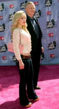 Jon Voight and goddaughter Skyler Shayeat the 2007 MTV Movie Awards.