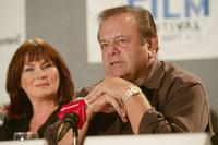 Mary Walsh and Paul Sorvino at the press conference of