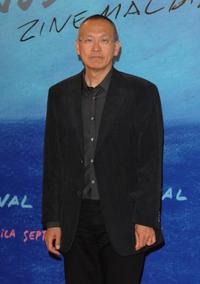 Wayne Wang at the 55th San Sebastian International Film Festival.