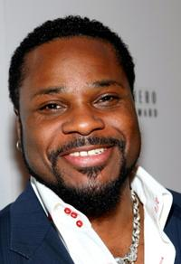 Malcolm-Jamal Warner at the USA TODAY Hollywood Hero honoring Magic Johnson.