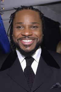 Malcolm-Jamal Warner at the Distinctive Assets Gift Lounge during the People's Choice Awards.