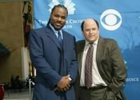 Malcolm-Jamal Warner and Jason Alexander at the nomination announcements for the 31st Annual People's Choice Awards.