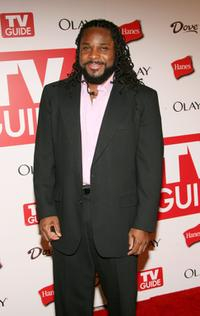 Malcolm-Jamal Warner at the 4th Annual TV Guide after party celebrating Emmys 2006.