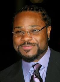 Malcolm-Jamal Warner at the CBS Ray Charles Tribute Concert.