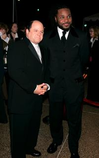 Jason Alexander and Malcolm-Jamal Warner at the 31st Annual People's Choice Awards.