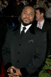 Malcolm-Jamal Warner at the 31st Annual People's Choice Awards.