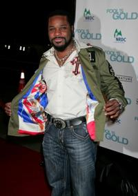 Malcolm-Jamal Warner at the premiere of