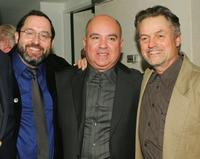 Michael Barker, Agustin Almodovar and Jonathan Demme at the New York Film Festival screening of