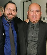 Michael Barker and Agustin Almodovar at the New York Film Festival screening of