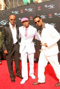 Keenan Ivory Wayans, Marlon Wayans and Shawn Wayans at the Shrine Auditorium for the 2006 BET Awards.