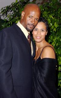 Keenen Ivory Wayans and Daphne at the Friars Club of California for the Friars Club Lifetime Achievement Award Gala honoring Earvin Magic Johnson.