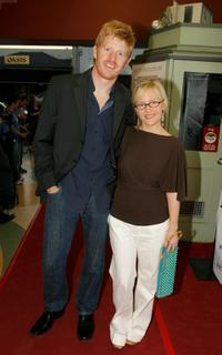 Michael Weaver and Rachael Harris at the screening of