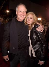 Jerry Weintraub and Julia Roberts at the premiere of