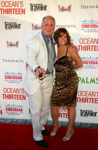 Jerry Weintraub and Executive Producer Susan Ekins at the opening night screening of