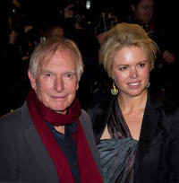 Peter Weir and Wendy at the UK premiere of