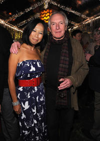 Camille Chen and Peter Weir at the 22nd Annual Palm Springs International Film Festival Screenings and Events.