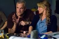 Director Nick Cassavetes and Cameron Diaz on the set of