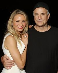 Cameron Diaz and Nick Cassavetes at the after party of the New York premiere of
