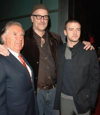 Producer Sidney Kimmel, Nick Cassavetes and Justin Timberlake at the premiere of