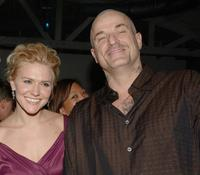Dominique Swain and Nick Cassavetes at the after party of the premiere of