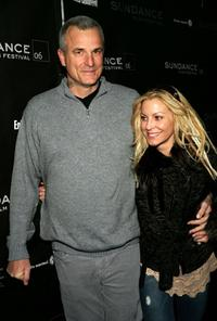 Nick Cassavetes and his wife Heather Wahlquist at the