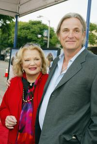 Gena Rowlands and Nick Cassavetes at the premiere of
