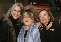 Deborah Nadoolman Landis, Julie Weiss and Barbara Bundy at the Art of Motion Picture Costume Design Exhibition.