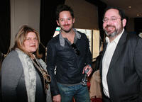 Julie Weiss, Scott Cooper and Michael Barker at the Robert Duvall Hand And Footprint Reception in California.