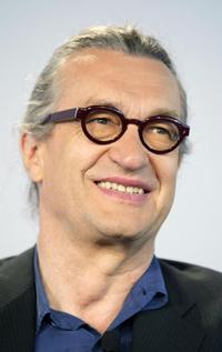 Wim Wenders at a discussion on