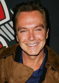 David Cassidy at the Rolling Stone Magazine's 1000th cover celebration.