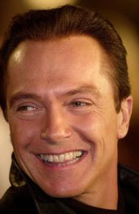 David Cassidy at an V.I.P. party on the eve of the public grand opening of