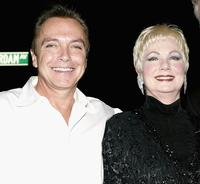 David Cassidy and Shirley Jones at the 49th Annual Drama Desk Awards.