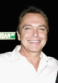 David Cassidy at the 49th Annual Drama Desk Awards.