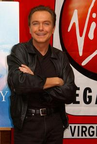 David Cassidy at the promotion of
