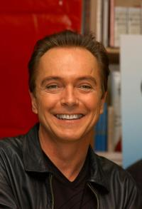 David Cassidy at Los Angeles for the promotion of