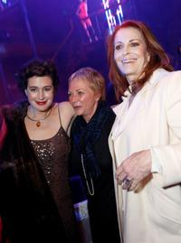 Joanna Cassidy,Sean Young and Ronnee Sass at the after party for the Jules Verne Adventure Film Fest and