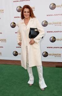 Joanna Cassidy at the Jules Verne Adventure Film Festival Special Awards Presentation.