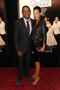 Forest Whitaker and Keisha Whitaker at the New York premiere of