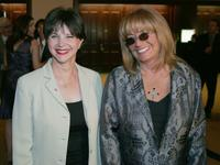 Penny Marshall and Cindy Williams at the Entertainment Tonight Celebrates The Emmy Awards With Glamour