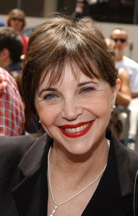 Cindy Williams at the birthday celebration and plaque dedication for veteran Bob Hope.
